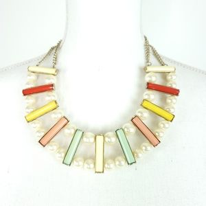 Mika Colorful Statement Necklace